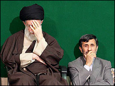 تایمز: سرنوشت احمدی نژاد و خامنه ای<br /> به هم گره خورده است