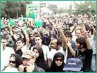 موج سبز ملت ایران روز قدس