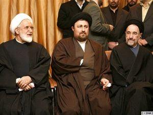 سیدمحمد خاتمی, سید حسن خمینی و مهدی کروبی
