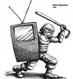 کاریکاتور مانا نیستانی