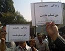 تظاهرات کارگران مخابرات شیراز