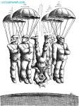 کاریکاتور مانا نیستانی - سقوط امن