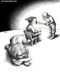 کاریکاتور مانا نیستانی - بازی خطرناک