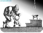 کاریکاتور مانا نیستانی - دستم بگرفت و ...