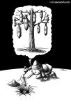 کاریکاتور مانا نیستانی - پینوکیو و درخت معجزه