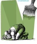 کاریکاتور مانا نیستانی - مقابله