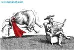 کاریکاتور مانا نیستانی - مبارزه بی خشونت