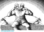 کاریکاتور مانا نیستانی - بشنو !