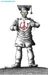 کاریکاتور مانا نیستانی - با این وجود، صلح