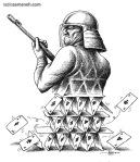 کاریکاتور مانا نیستانی - آس ها