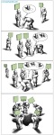 کاریکاتور مانا نیستانی - نابودی !