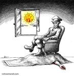 کاریکاتور مانا نیستانی - پنهان!