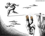 کاریکاتور مانا نیستانی - سبز، سیاه!