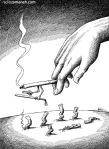 کاریکاتور مانا نیستانی - شعله ور!
